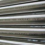 ASTM A276 AISI 316 الفولاذ المقاوم للصدأ قضيب دائري