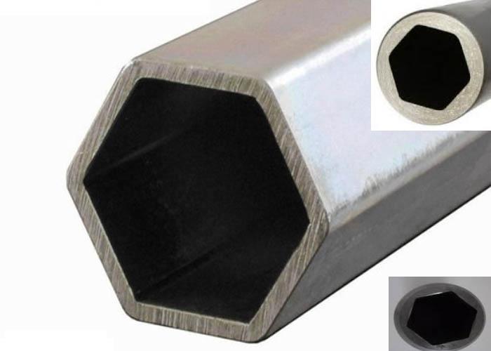 201/202/301 / 409L / 416 أنبوب / أنبوب سداسي من الفولاذ المقاوم للصدأ