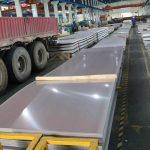 S32750 S32205 2205 2507904L S31803 لوح مزدوج من الفولاذ المقاوم للصدأ